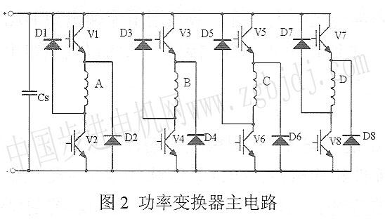 功率丰电路采用不对称半桥电路