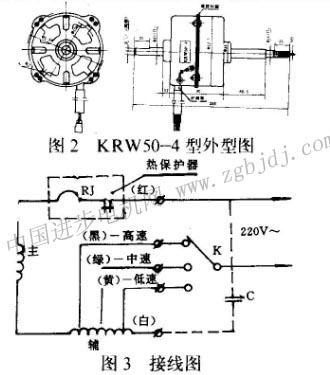 空调器风扇用单相电容运转异步电动机