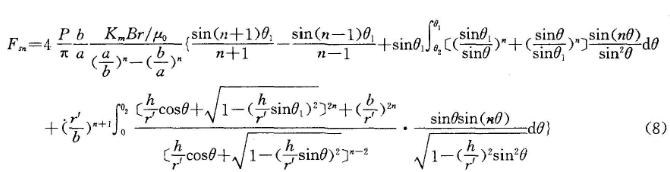 微特电机论文:正弦波永磁同步电机空载气隙磁场分析