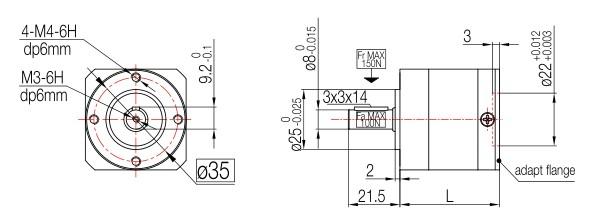 减法兰1:20双出轴圆速比步进减速电机42HB473473d导出cad太大图片