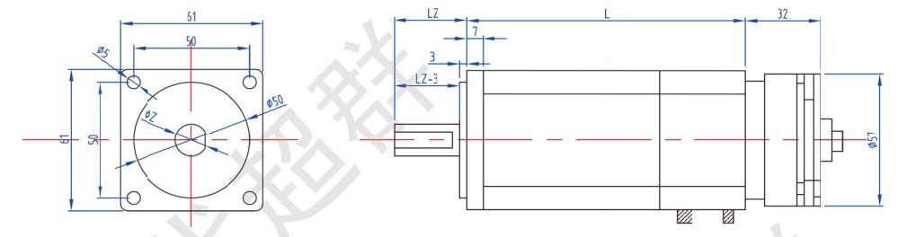"""无刷直流电动机采用了钕铁硼磁性材料,作为稀土永磁材料发展的最新结果,由于其优异的磁性能而被称为""""磁王""""。钕铁硼具有极高的磁能积和矫力,同时高能量密度的优点使钕铁硼永磁材料在现代工业和电子技术中获得了广泛应用,从而使仪器仪表、电声电机、磁选磁化等设备的小型化、轻量化、薄型化成为可能。"""