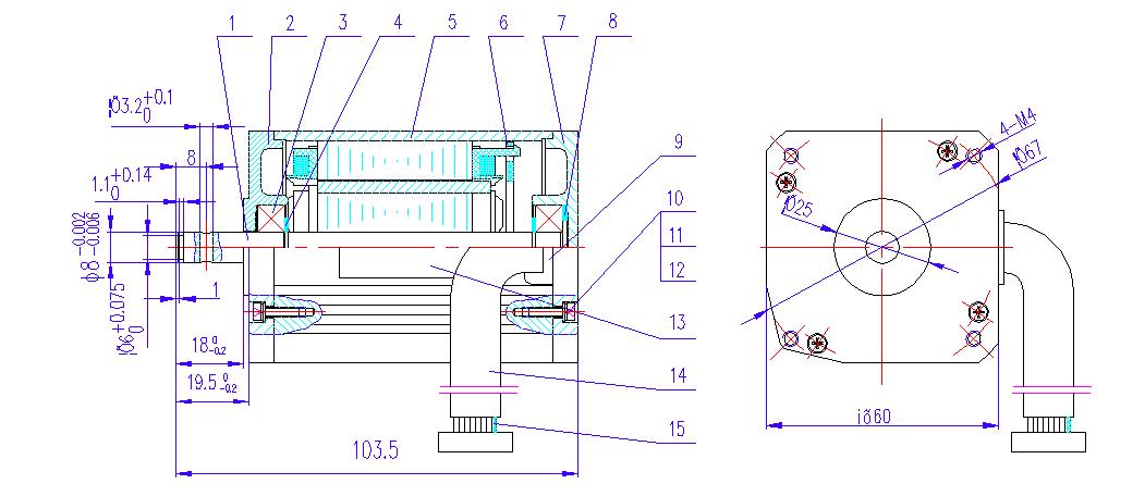 点钞机专用35w/1800rpm新款无刷电机(lp)