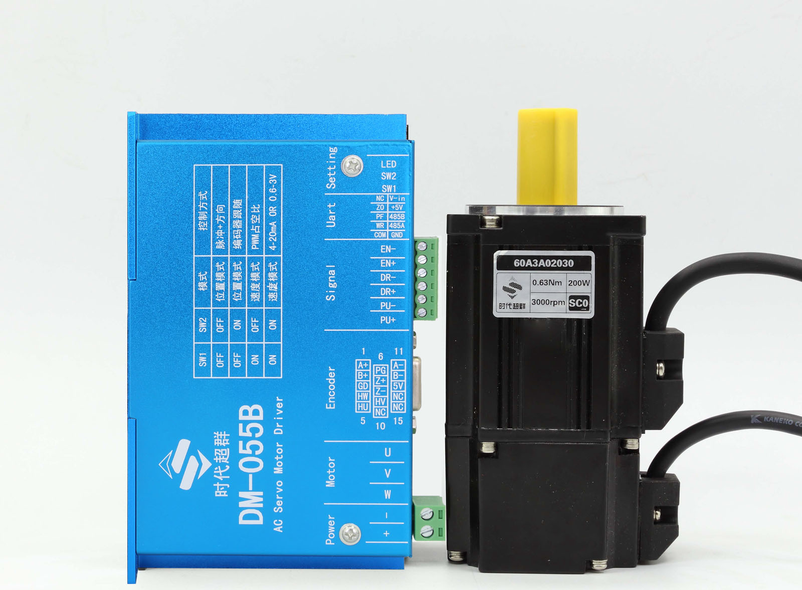 36V 3000转的直流伺服电机24V供电会有什么现象 LP图片