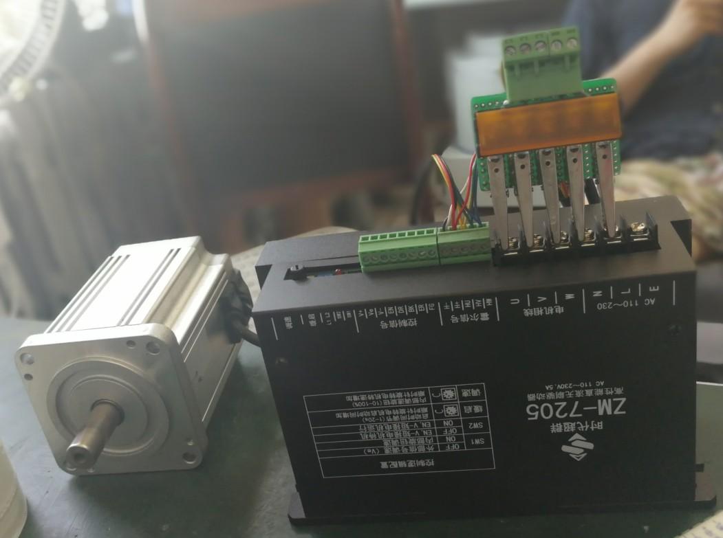 三相全桥pwm斩波方式,闭环稳速,大负载时电机仍保持转速,低发热大功率