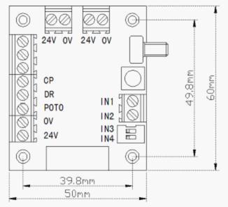 注:(正反转切换时需将步进电机按ok键暂停)      l 转接板 0v 3个0v