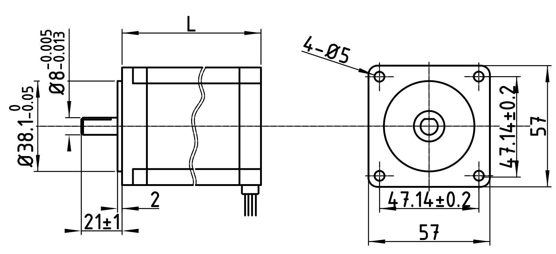 zd-m42p两相步进电机驱动器 可带42电机支持can总线控制使用 有效节省