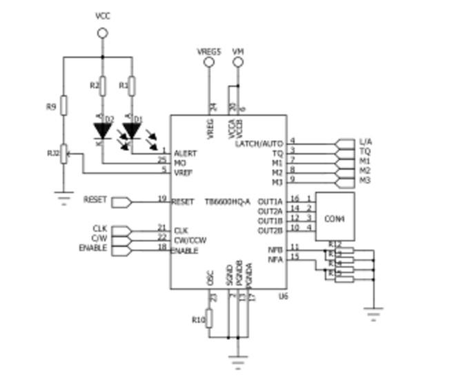 基于tb6600的步进电机驱动电路设计 ck