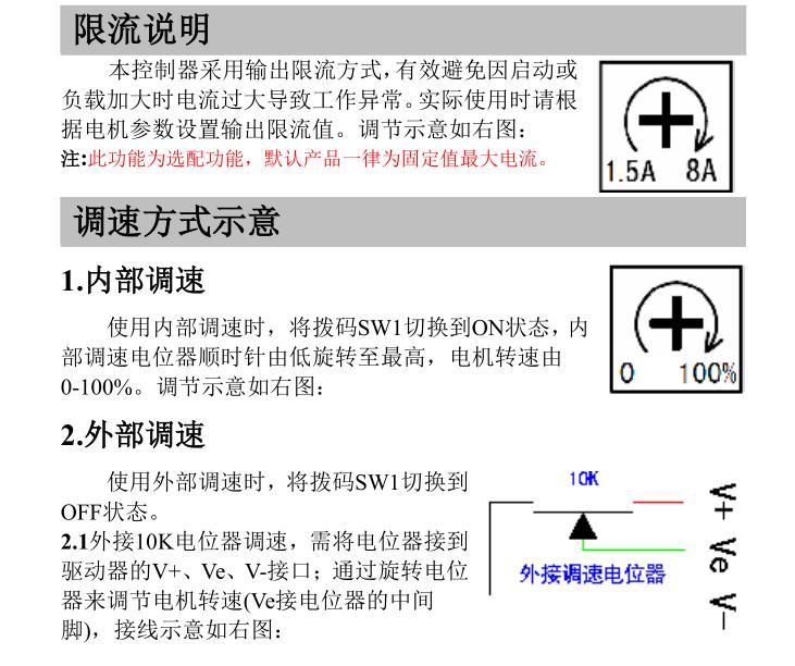 57/60/80直流无刷电机驱动控制器带霍尔直流电机主轴高转速(ssz)