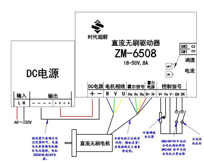 怎么利用继电器来控制带刹车的直流无刷电机的启停控制(lp)